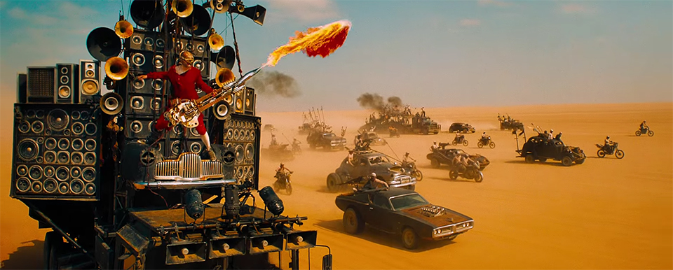 Number 1 is Mad Max Fury Road. Mad Max Fury Road. Image Credit: Warner Bros./Roadshow.