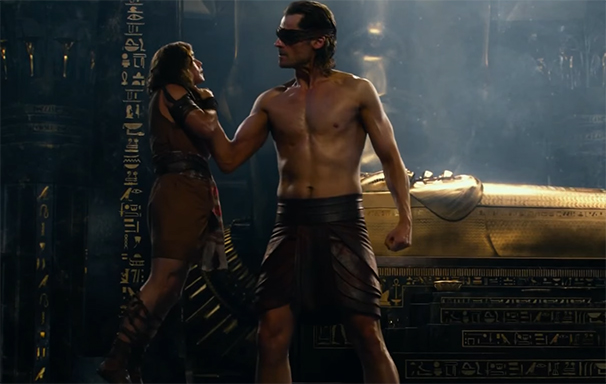 The CGI is just awful at times. Gods of Egypt. Image Credit: Lionsgate.
