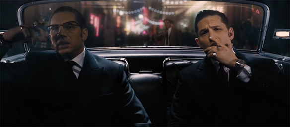 Legend staring Tom Hardy and Tom Hardy