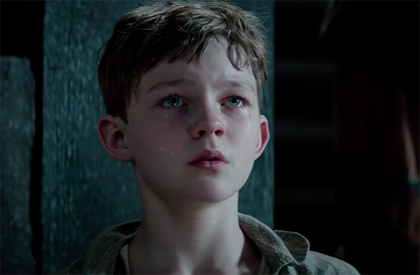 Levi Miller is a great Pan