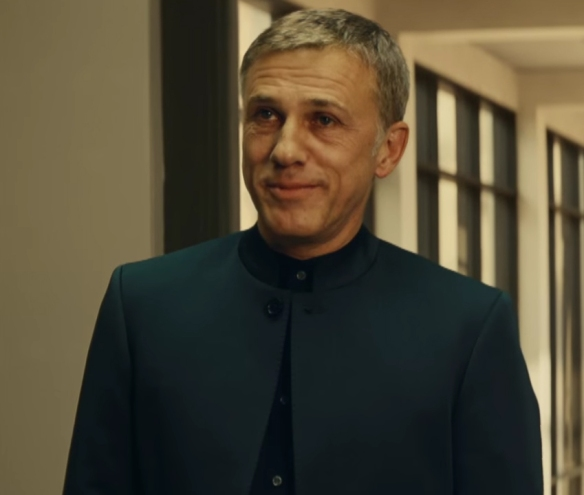 Christoph Waltz feels wasted as the villain