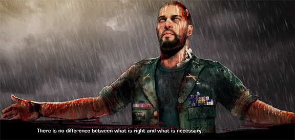 """There is no difference between what is right and what is necessary"" Spec Ops: The Line. Image Credit: Yager/2K."