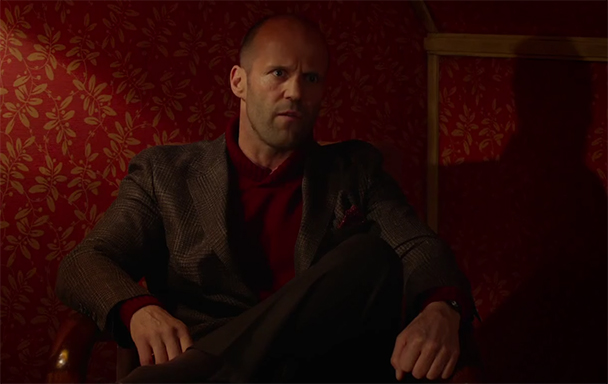 Jason Statham parodying Jason Statham gets old quickly