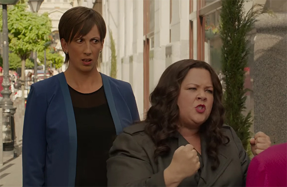 Melissa McCarthy gives a great performance