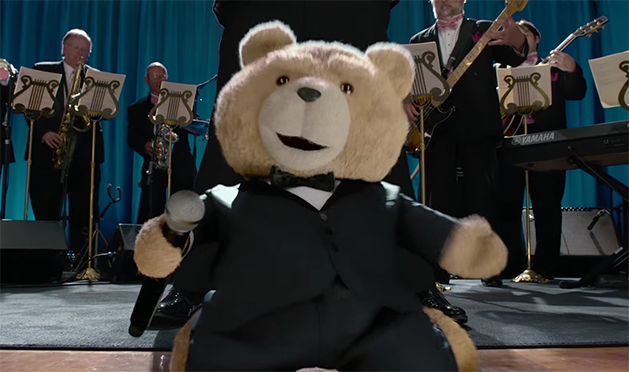 There is a bit more substance to Ted 2, but there are also more problems