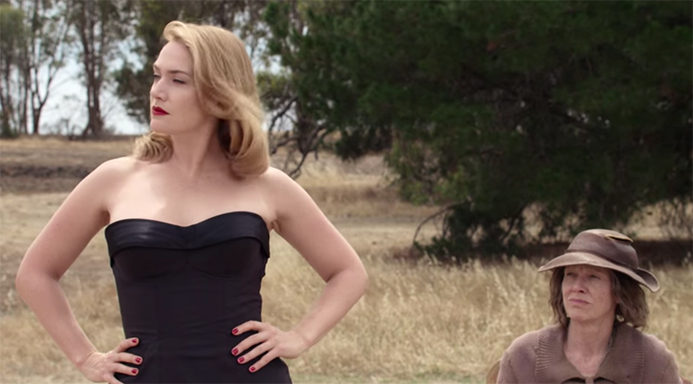 Juxtaposition is an art-form here in The Dressmaker