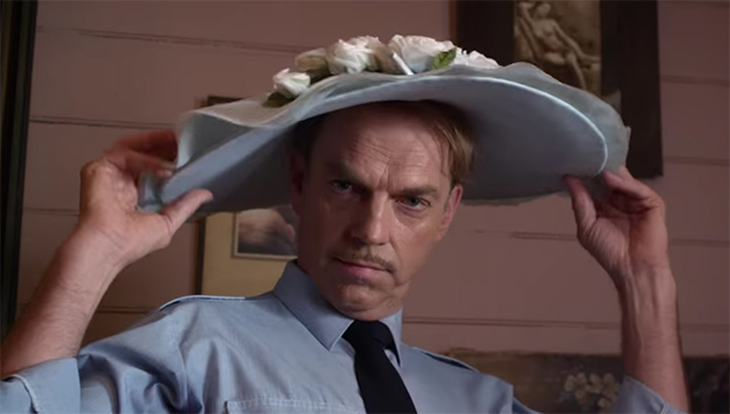 Hugo Weaving also recommends you go see The Dressmaker