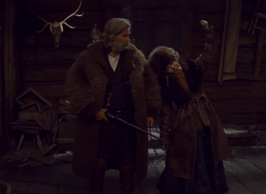 What this film is missing is any kind of tension. The Hateful Eight. Image Credit: TWC.