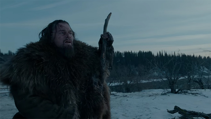 If ever there was an Oscar winning performance it was this. The Revenant. Image Credit: 20th Century Fox.