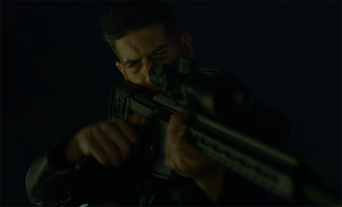 Jon Bernthal brings amazing depth to his role as the Punisher. Daredevil. Image Credit: Marvel/Netflix.