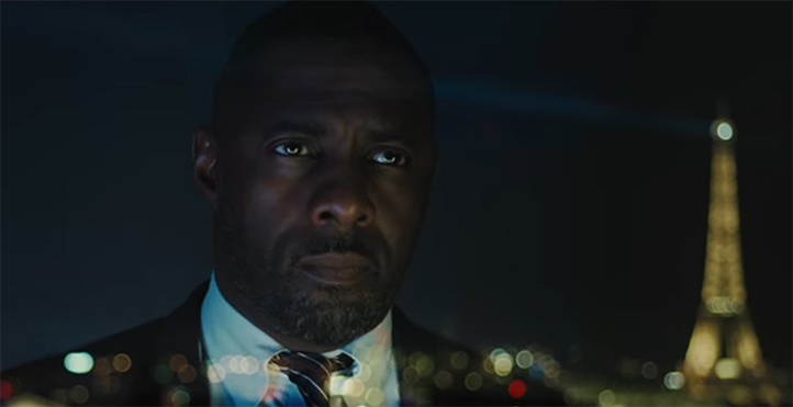 Idris Elba is wasted in this film. Bastille Day (The Take). Image Credit: Studio Canal.