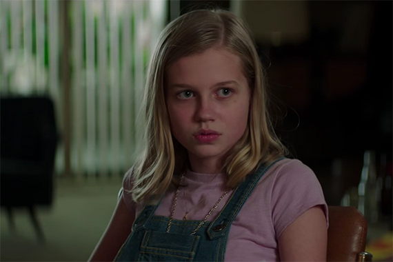 One of the big surprises is the talent of Angourie Rice who owns every scene she is in. The Nice Guys. Image Credit: Warner Bros.