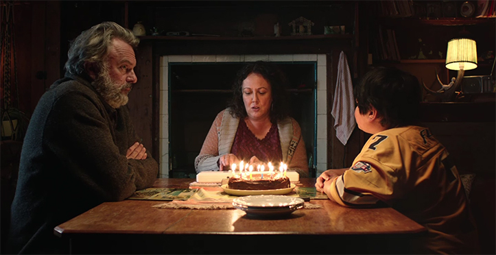 Ricky Baker, happy birthday, once rejected, now accepted by me and Hector, a trifecta. Hunt for the Wilderpeople. Image Credit: Madman.
