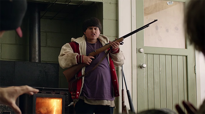 Julian Dennison brings an amazing range to the role of Ricky Baker. Hunt for the Wilderpeople. Image Credit: Madman.