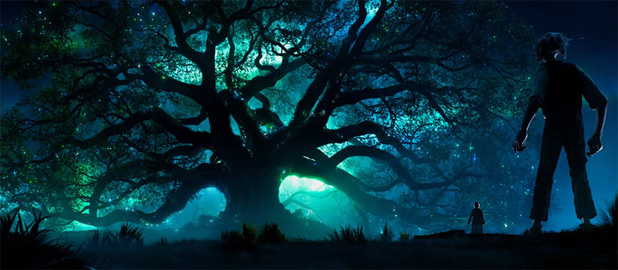 This film is down right gorgeous at times. The BFG. Image Credit: Disney.