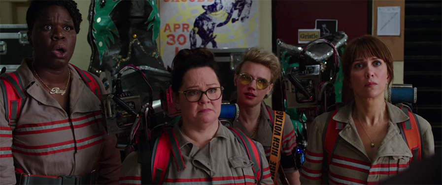 One good things about the movie is the great connection between the cast. Ghostbusters. Image Credit: Sony.