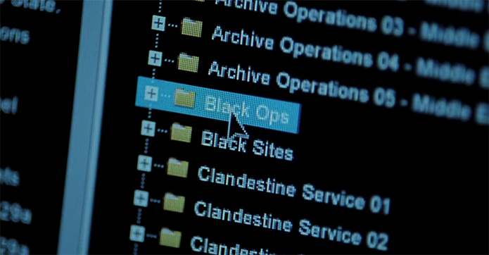 So Jason Bourne thinks the CIA would label their files like this. Jason Bourne. Image Credit: Universal Pictures.