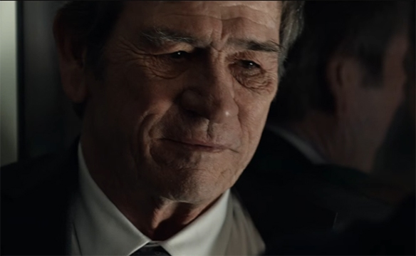 Tommy Lee Jones playing crotchety old dude