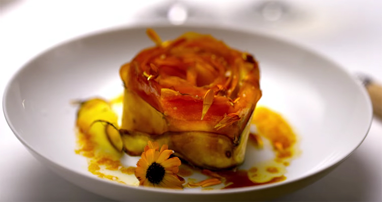 Seriously, look how beautiful that is. Chef's Table France. Image Credit: Netflix.