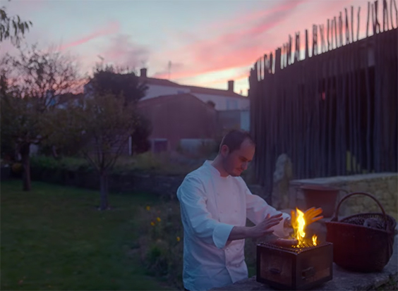 The cinematography is stunning. Chef's Table France. Image Credit: Netflix.