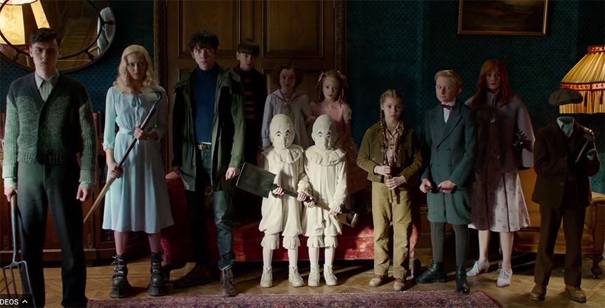 The young cast does a great job. Miss Peregrine's Home for Peculiar Children. Image Credit: 20th Century Fox.