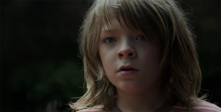 For such a young actor Oakes Fegley give an amazing performance. Pete's Dragon. Image Credit: Disney.