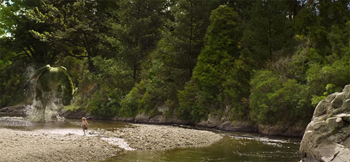 Pete's Dragon makes use of great CGI and beautiful locations. Pete's Dragon. Image Credit: Disney.