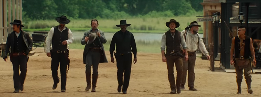 The cast is one of the strongest ensembles that I have seen in quite a while. The Magnificent Seven. Image Credit: Sony.