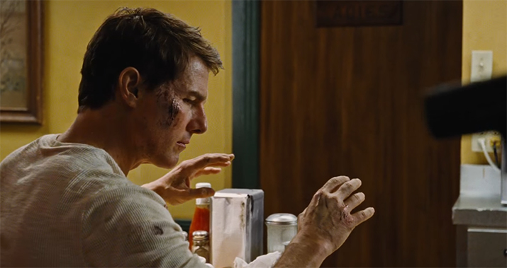 It is one of Tom Cruise's stronger recent roles. Jack Reacher: Never Go Back. Image Credit: Paramount.