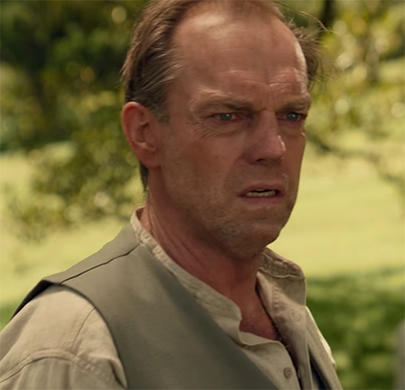 Hugo Weaving in Hacksaw Ridge. Image Credit: Lionsgate.