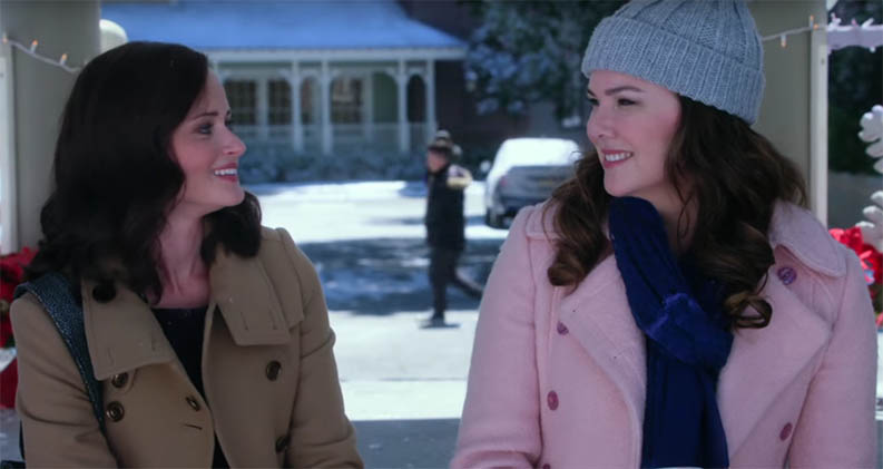 Welcome back to the land of Stars Hollow and the world of Gilmore Girls. Gilmore Girls: A Year in the Life. Image Credit: Netflix.