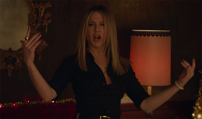 You don't want to mess with Jennifer Aniston in this film. Office Christmas Party. Image Credit: Paramount.