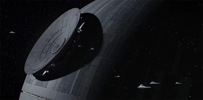 "For a movie with a ""Death"" Star death is actually a more intimate affair"