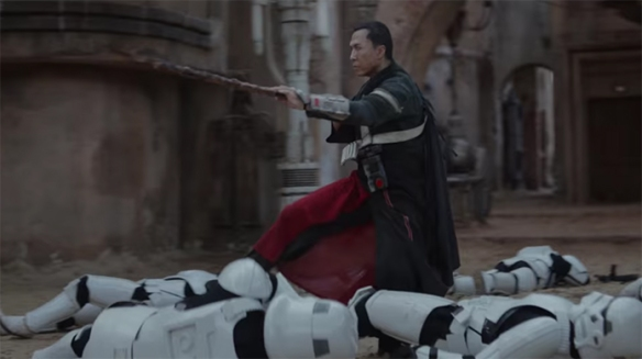 Donnie Yen was perfectly cast as Chirrut Îmwe