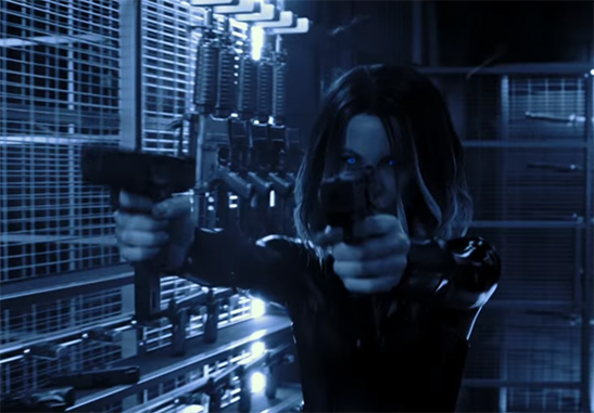 Kate Beckinsale brings the kick-ass with her portrayal of Selene