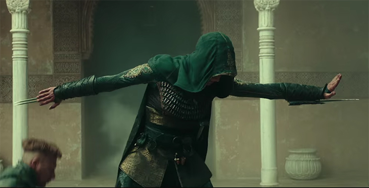 There are some great action set pieces in Assassin's Creed. Assassin's Creed. Image Credit: 20th Century Fox.