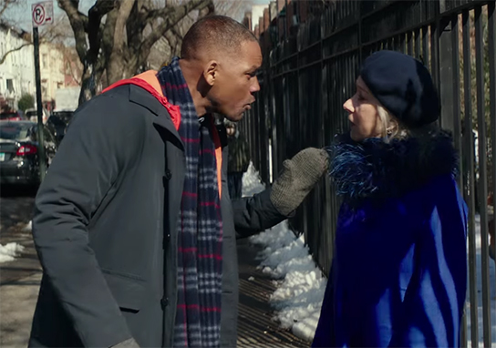 This could have been an interesting story, if it had been handled better. Collateral Beauty. Image Credit: Warner Bros.