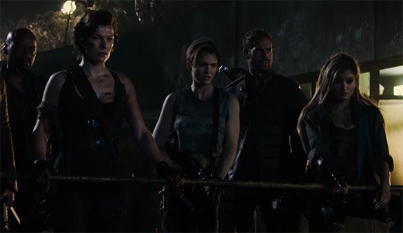 There is just no real character development for anyone outside of Alice. Resident Evil: The Final Chapter. Image Credit: Sony.