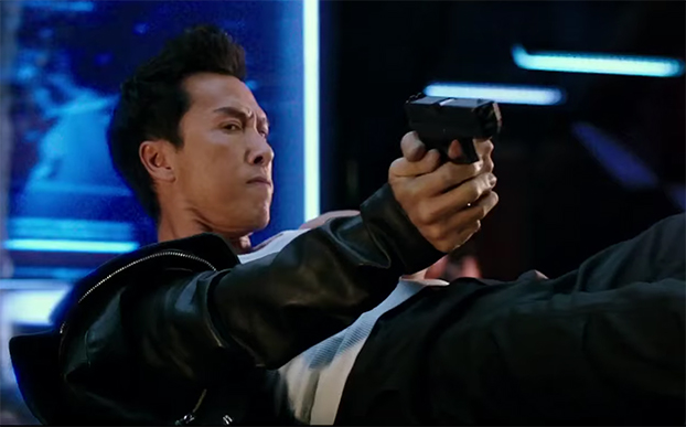 I will never look as cool as Donnie Yen does in this scene. xXx: Return of Xander Cage. Image Credit: Paramount.