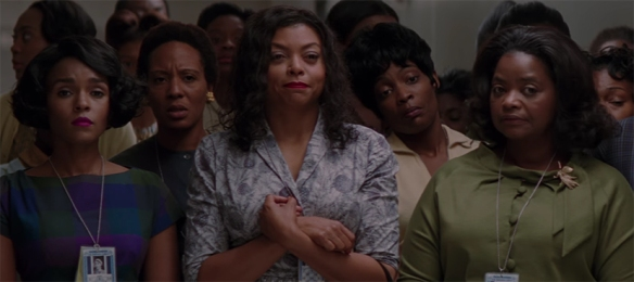 The rapport between Taraji P. Henson, Octavia Spencer, and Janelle Monáe is what helps Hidden Figures shine
