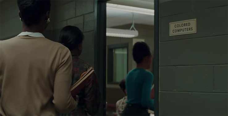 Hidden Figures is a reminder that policies like this are just plain wrong no matter the justification. Hidden Figures. Image Credit: 20th Century Fox.