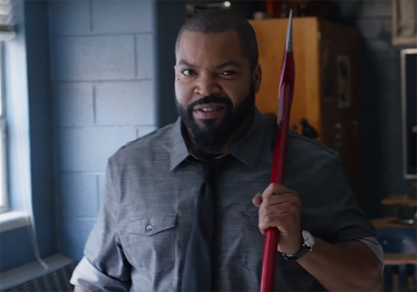 Ice Cube gives a strong performance