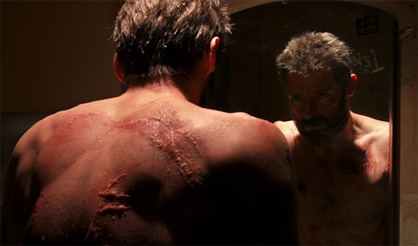 Logan is a man struggling to survive his own past. Logan. Image Credit: 20th Century Fox