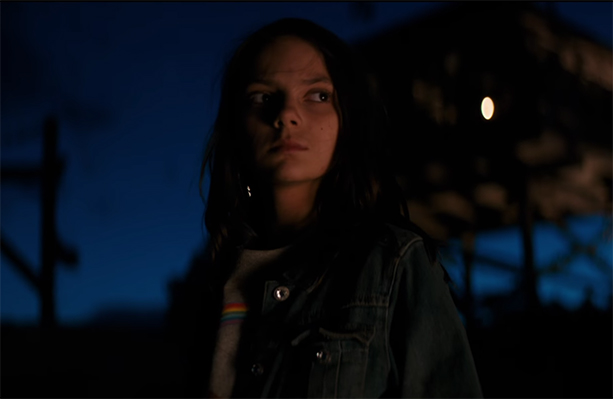 There is so much power in Dafne Keen performance. Logan. Image Credit: 20th Century Fox