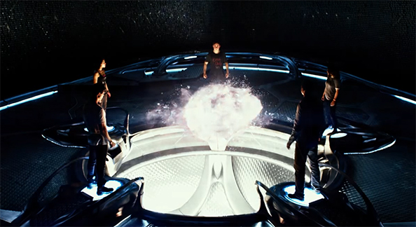 As a team the cast works great together. Power Rangers. Image Credit: Lionsgate.