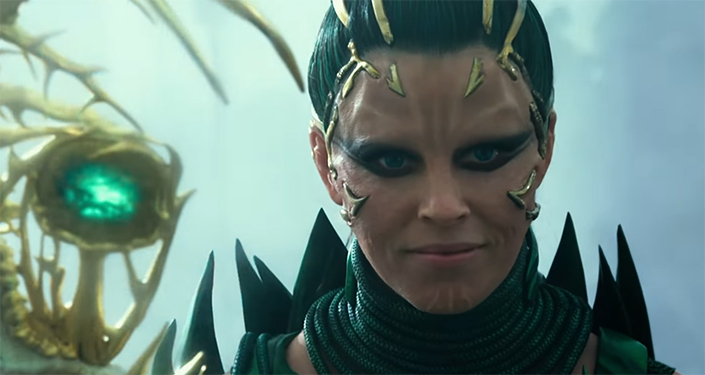 Elizabeth Banks makes the most out of every scene she is in. Power Rangers. Image Credit: Lionsgate.