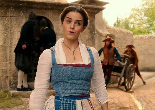 Emma Watson is amazing as Belle. Beauty and the Beast. Image Credit: Disney.