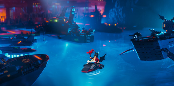 The Lego Batman film is a love letter to the character of Batman. The Lego Batman Movie. Image Credit: Warner Bros.
