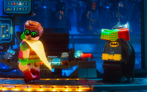 The visual gags are on point. The Lego Batman Movie. Image Credit: Warner Bros.