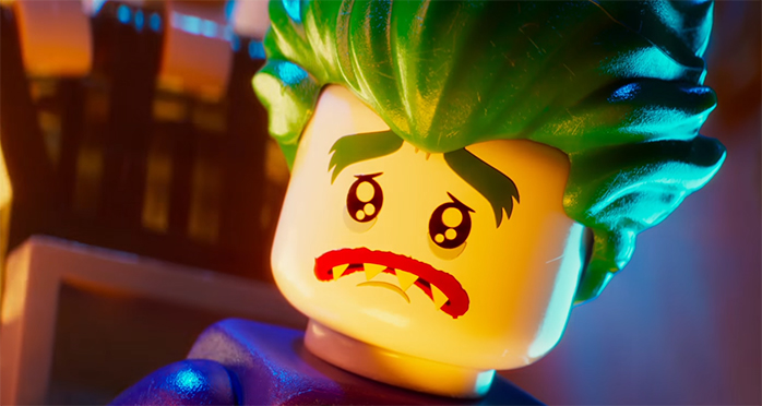 Finally a Joker who is memorable. The Lego Batman Movie. Image Credit: Warner Bros.